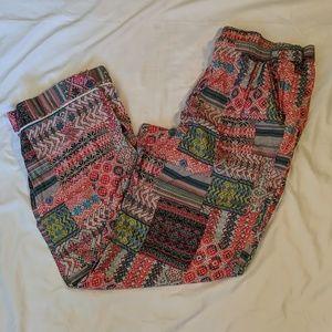 Victoria's Secret Patchwork Pajama Pants